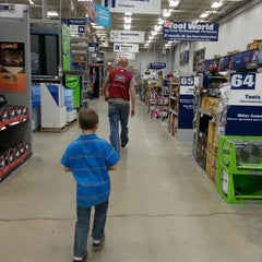 Photo taken at Lowe's Home Improvement by BlingBlinkyofTEXAS B. on 12/15/2012