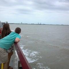 Photo taken at Galveston - Bolivar Ferry by Sean K. on 4/21/2013