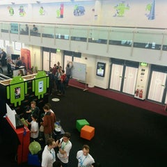 Photo taken at DroidconUK by Friederike W. on 10/30/2014