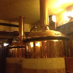 Photo taken at Pivovar u Bulovky (Richter Brewery) by Егор Ч. on 11/10/2012