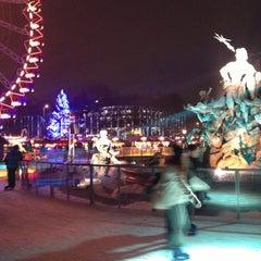 Photo taken at Weihnachtsmarkt am Roten Rathaus by Pare on 12/21/2012