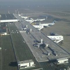 Photo taken at Nikola Tesla Airport (BEG) by Ivan M. on 1/2/2013