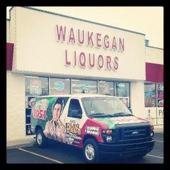 Photo taken at Waukegan Liquors by Dex on 4/6/2013