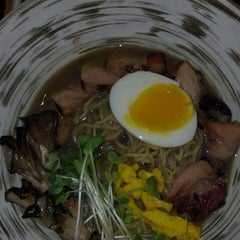 Photo taken at Arami by Lesley S. on 2/28/2013