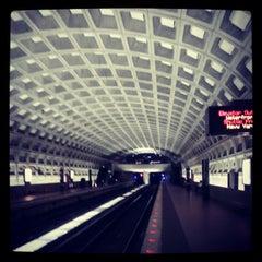 Photo taken at McPherson Square Metro Station by Ben S. on 10/14/2012