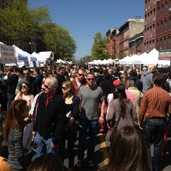Photo taken at Hoboken Music And Arts Festival by Sabrina B. on 5/5/2013