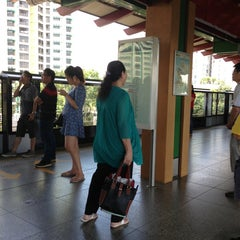 Photo taken at Lakeside MRT Station (EW26) by Mary A. on 1/26/2013