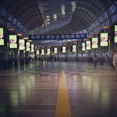 Photo taken at 品川駅 (Shinagawa Sta.) by white on 9/30/2012