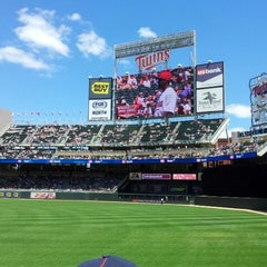 Photo taken at Target Field by Manish T. on 6/2/2013