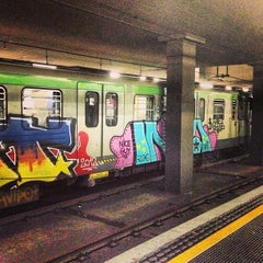 Photo taken at Metro Centrale FS (M2, M3) by Julia T. on 5/14/2013