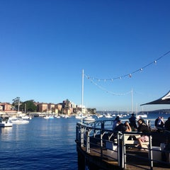 Photo taken at Manly Wharf Bar by Dani M. on 7/3/2013