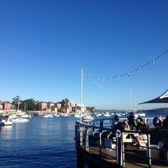 Photo taken at Manly Wharf Bar by Dani M. on 7/3/2013