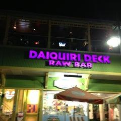 Photo taken at Daiquiri Deck by Moirita on 7/14/2013