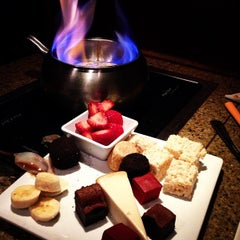 Photo taken at The Melting Pot by Fadi E. on 2/14/2013