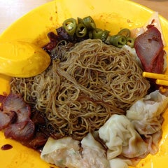Photo taken at Sin Hoe Hin Rowell Road Wonton Mee by Brian W. on 12/5/2013