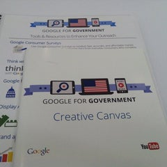 Photo taken at Google Washington by David A. on 10/16/2014