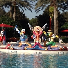 Photo taken at Disney's All-Star Music Resort by Christine P. on 10/12/2013