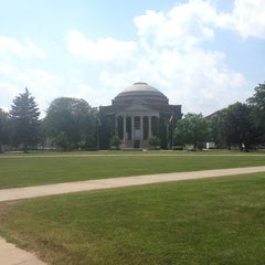 Photo taken at Syracuse University Quad by Anne Marie S. on 7/19/2013