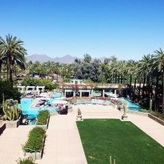 Photo taken at Hyatt Regency Scottsdale Resort and Spa at Gainey Ranch by Tara S. on 4/14/2013