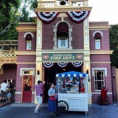 Photo taken at Disneyland Fire Department No. 1 by Kazusan J. on 6/29/2013