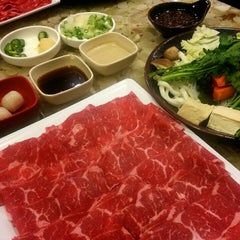 Photo taken at Tokyo Shabu Shabu by Cornelles A. on 10/15/2012