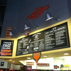 Photo taken at Jimmy John's by Stacy F. on 11/25/2012