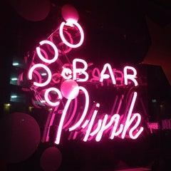 Photo taken at Bar Pink by Sha N. on 12/24/2012