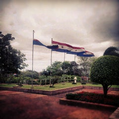 Photo taken at BCP - Banco Central del Paraguay by Amanda Soledad D. on 9/19/2012