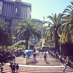 Photo taken at Union Square by rabia a. on 6/23/2013
