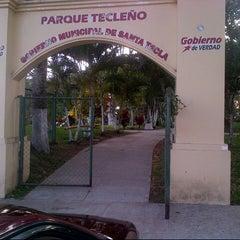 Photo taken at Parque de la Familia by Emerson C. on 4/11/2013