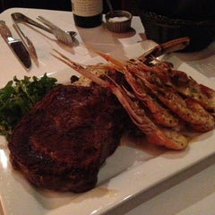 Photo taken at Lonesome Dove Western Bistro by Glenn P. on 11/18/2012