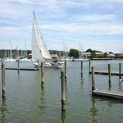 Photo taken at Waterman's Crab House by david k. on 7/9/2014