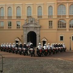 Photo taken at Palais Princier de Monaco by Sugarfree G. on 10/25/2012