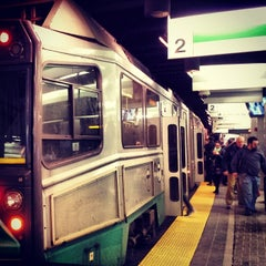 Photo taken at MBTA Green Line - B Train by 🔌Malectro 7. on 3/1/2014