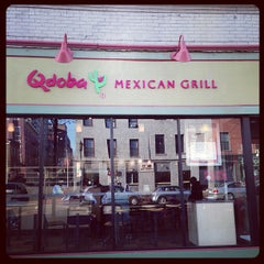 Photo taken at Qdoba Mexican Grill by David C. on 12/14/2012