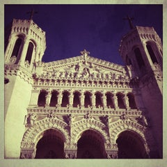 Photo taken at Basilique Notre-Dame de Fourvière by Evgenia P. on 12/30/2012