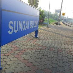 Photo taken at KTM Line - Sungai Buloh Station (KA08) by Guess Y. on 6/13/2012