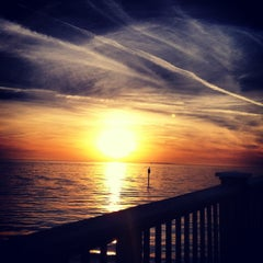 Photo taken at Clearwater Beach Pier by Pam S. on 12/9/2012