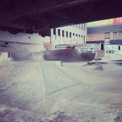 Photo taken at Burnside Skate Park by Jibran K. on 7/6/2013