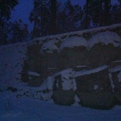 Photo taken at Brāļu kapi by Gita G. on 12/12/2012