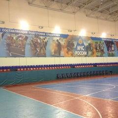 Photo taken at Спортивный Комплекс СЗРЦ МЧС by Tanya D. on 12/18/2012