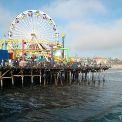 Photo taken at Santa Monica Pier by Khalid S. on 7/13/2013