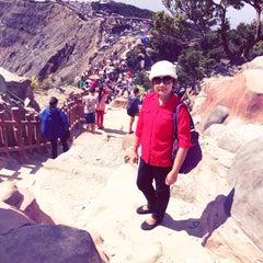 Photo taken at Gunung Tangkuban Parahu by Esther M. on 7/19/2015