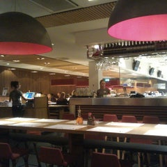 Photo taken at Wagamama by Tobias S. on 2/23/2013