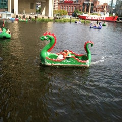 Photo taken at Inner Harbor Paddle Boat Dock by Debbie P. on 9/14/2012