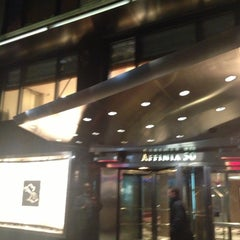 Photo taken at Fifty NYC-an Affinia Hotel by David L. on 11/3/2012