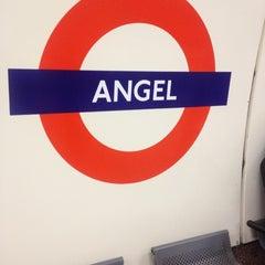 Photo taken at Angel London Underground Station by Susa L. on 11/22/2012