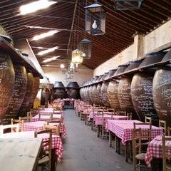 Photo taken at Las Cuevas del Vino by Laura D. T. on 10/15/2015