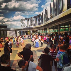 Photo taken at Staten Island Ferry - Whitehall Terminal by Sergei M. on 6/16/2013