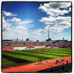Photo taken at Центральный Стадион / Central Stadium by Sergei M. on 7/21/2013